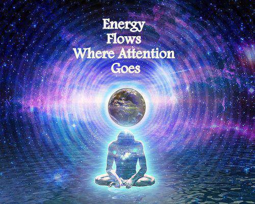energia voolab sinna, kus on tähelepanu